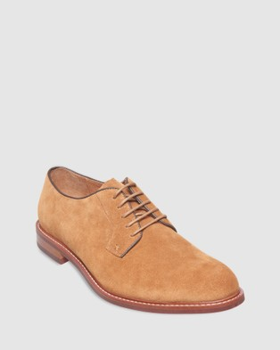 3 Wise Men The Sumner - Dress Shoes (Brown Suede)