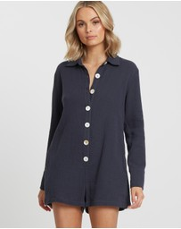 The Fated - Lodhi Long Sleeve Playsuit