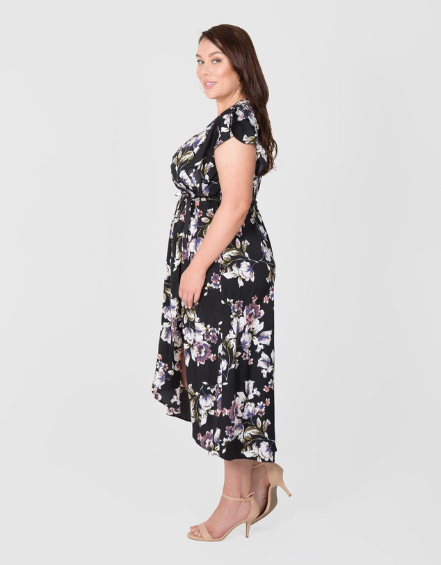 Love Your Wardrobe - Pansy Floral Maxi Dress