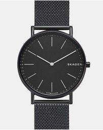 Skagen - Signatur Black Analogue Watch