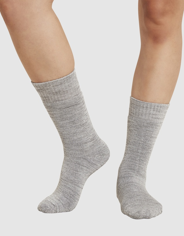 Women 4 Pack Crew Boot Socks