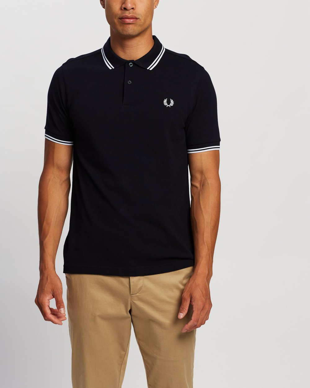 b6027b8e8 Slim Fit Twin Tip Polo Shirt by Fred Perry Online