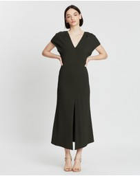 Ginger & Smart - Amplitude V-Neck Dress