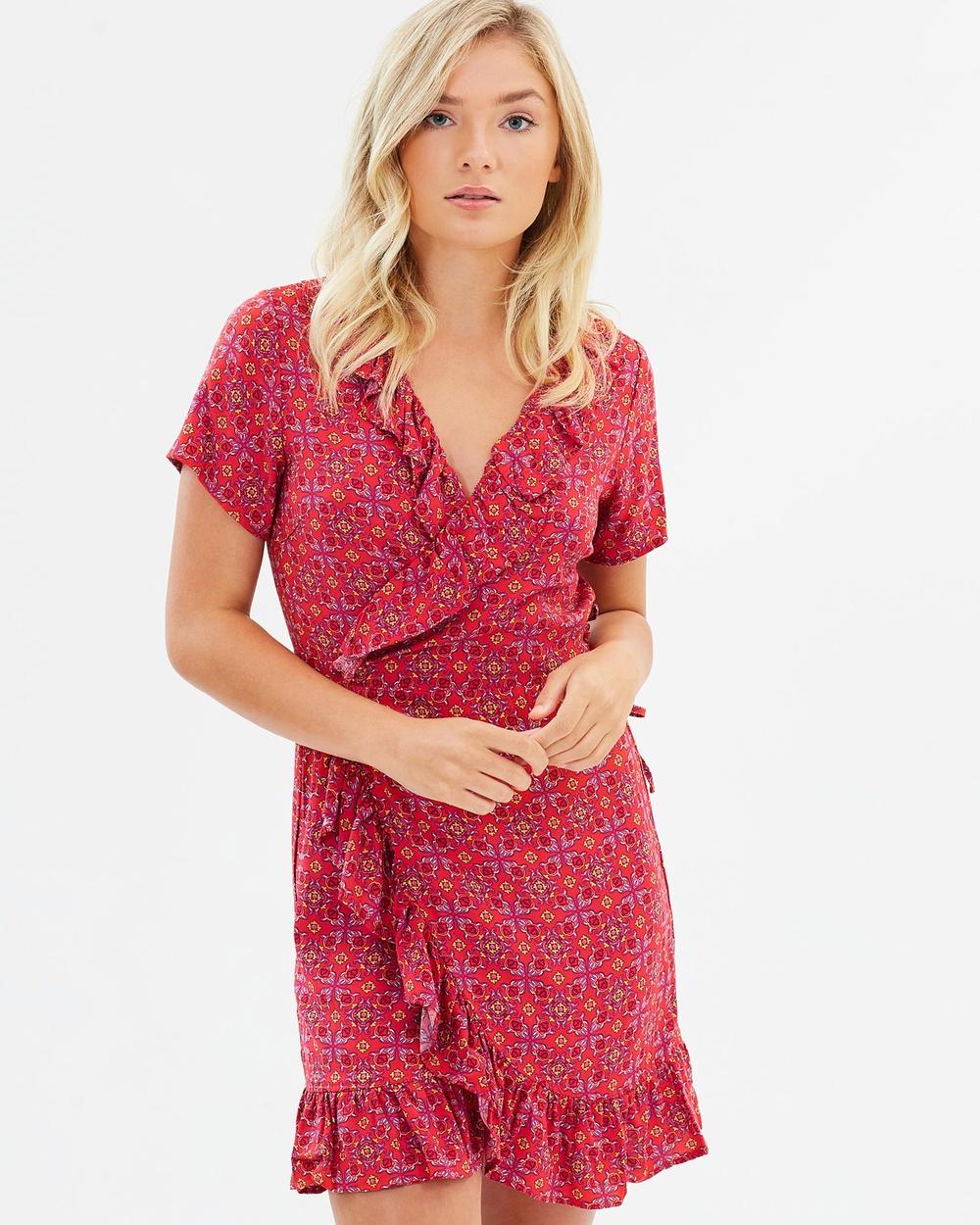 All About Eve Jemina Dress Dresses Print Jemina Dress