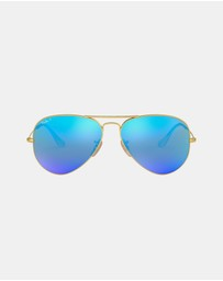 Ray-Ban - Aviator Mirror Polarised RB3025