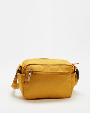 Harvest Label - Lycee Style Mini Shoulder Bag - Bags (Mustard) Lycee Style Mini Shoulder Bag