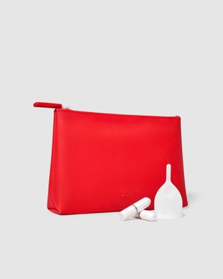 Scarlet Period Proof Accessories Bag - Beauty (Red)