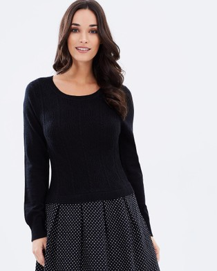 Privilege – Knit Dress