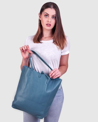 BEE The Monica Shopper Azure Handbags Azure