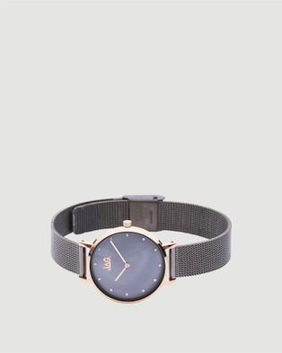 Jag Nikki Ladies Watch   Gunmetal Band - Watches (brown)