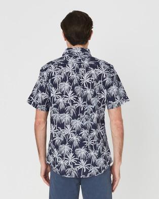 Coast Clothing Beach Palms Shirt - Casual shirts (Navy)