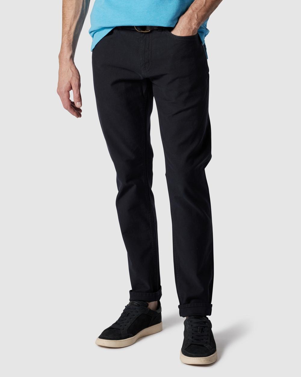 Rodd & Gunn Motion 2 Straight Jeans S Navy Australia