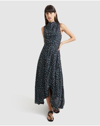 SABA - Theda Print Maxi Dress