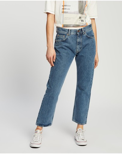 Superdry - High Rise Straight Jeans