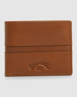 Billabong Boundary Rfid 2 In 1 Wallet - Wallets (TAN GRAIN)