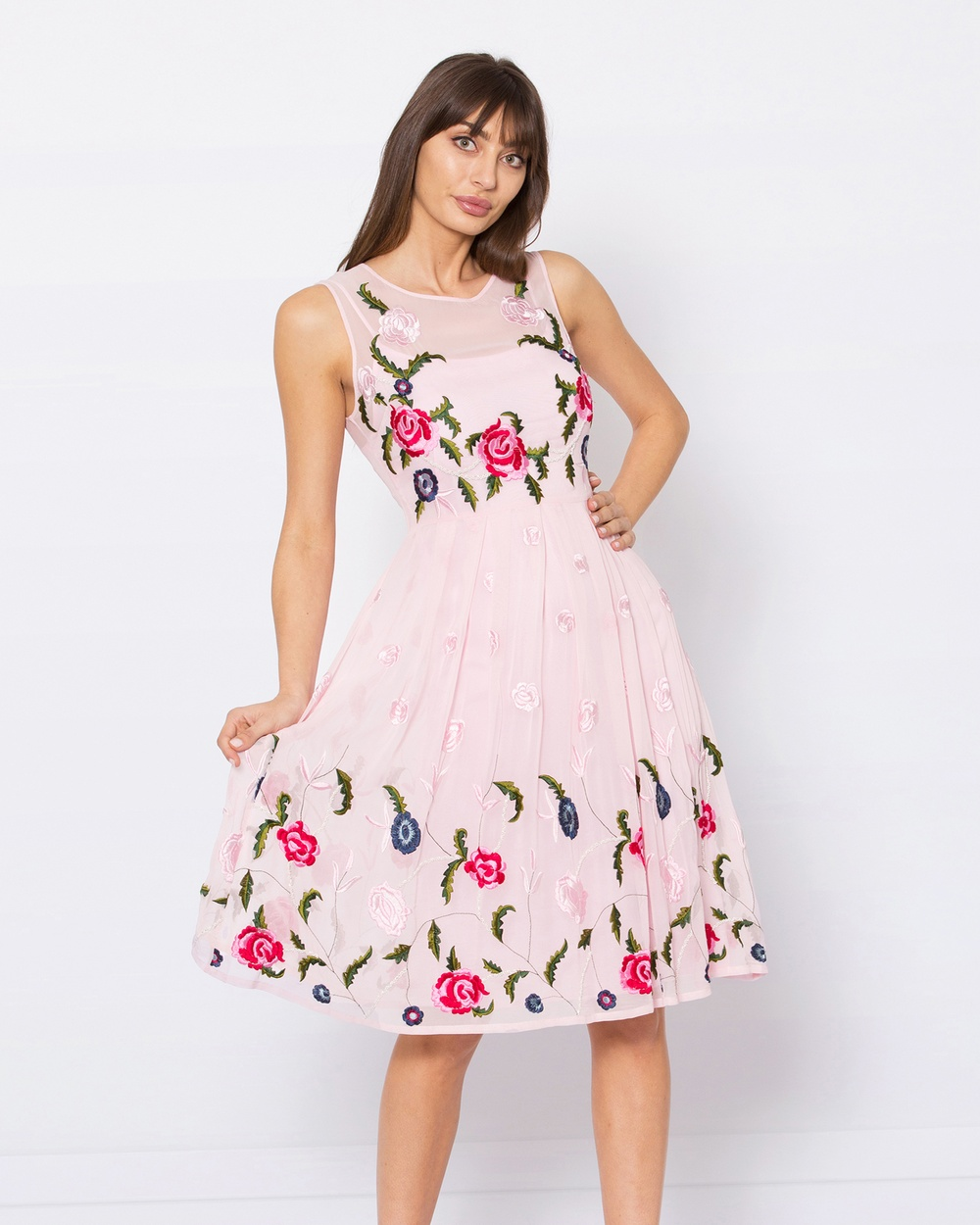 Alannah Hill Pink Grace Kelly Dress