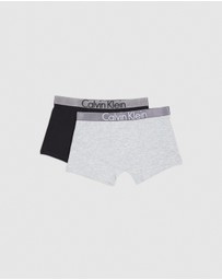 Calvin Klein - 2-Pack Customised Stretch Trunks - Teen