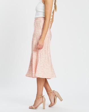 White By FTL Felicity Skirt - Skirts (Peach Snake)