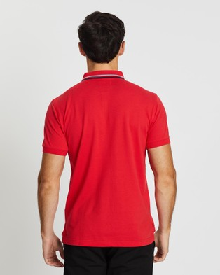 Kent and Curwen Short Sleeve Polo - Casual shirts (Red)