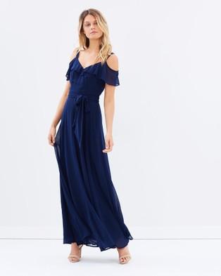Review – Flamenco Maxi Dress – Dresses (Navy)