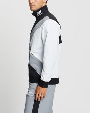 New Balance Kl2 Warmup Jacket - Coats & Jackets (Black)