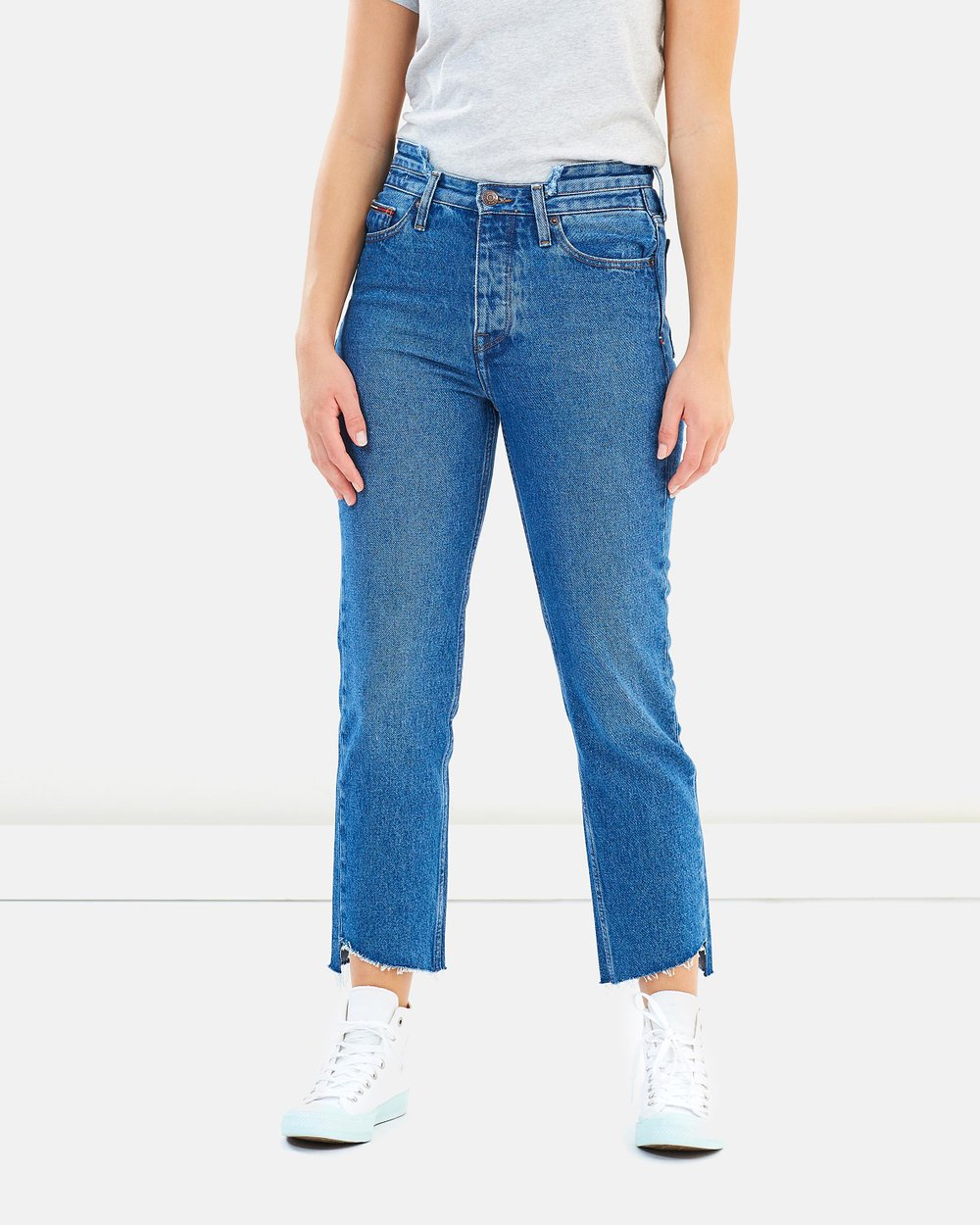 9a131a0b High-Rise Slim Izzy Jeans by Tommy Jeans Online | THE ICONIC | Australia