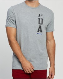 Under Armour - UA Vertical Left Chest Logo Tee