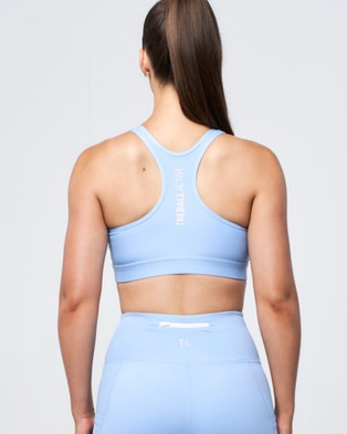 Treball Active Cleo Crop - Sports Bras (Sky Blue)