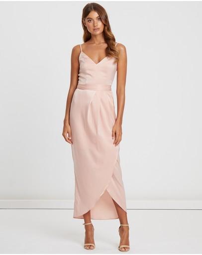 Chancery Pippa Pleated Dress Blush