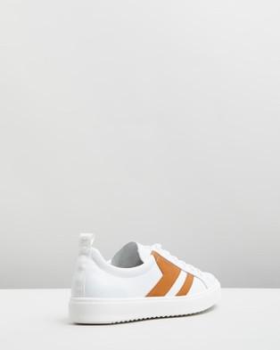 D.O.F Montana Sneakers White & Tan
