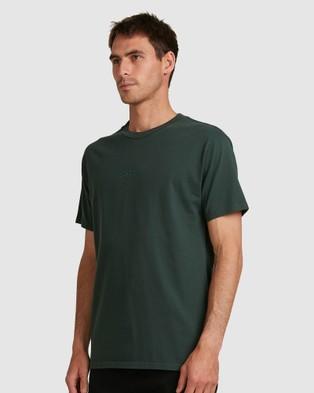 DC Shoes Mens Belong T Shirt - Short Sleeve T-Shirts (DEEP FOREST)