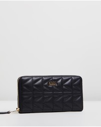 Karl Lagerfeld - K/Kuilted Zip Around Wallet