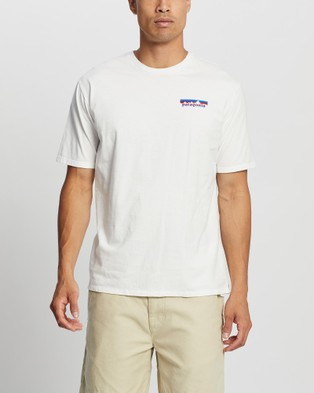 Patagonia Together for the Planet Logo Organic T Shirt - Short Sleeve T-Shirts (White)