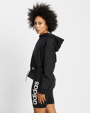 adidas Originals Boxy Hoodie - Hoodies (Black)