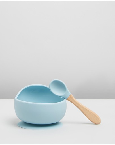 Cotton On Baby - Silicon Bowl And Spoon