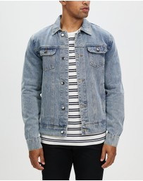Staple Superior - Denim Trucker Jacket