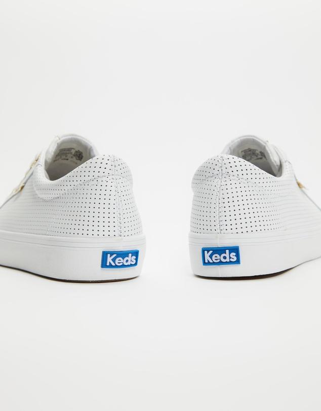 Women Jump Kick Leather Sneakers