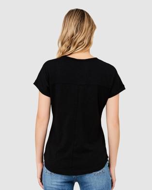Ripe Maternity Jaiden Tee - T-Shirts & Singlets (Black)