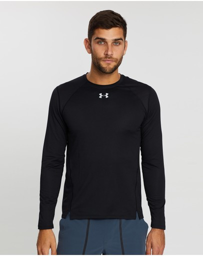 Under Armour - Qualifier HexDelta Long Sleeve Tee