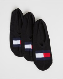 Tommy Hilfiger - 3-Pack Flag Sneaker Socks