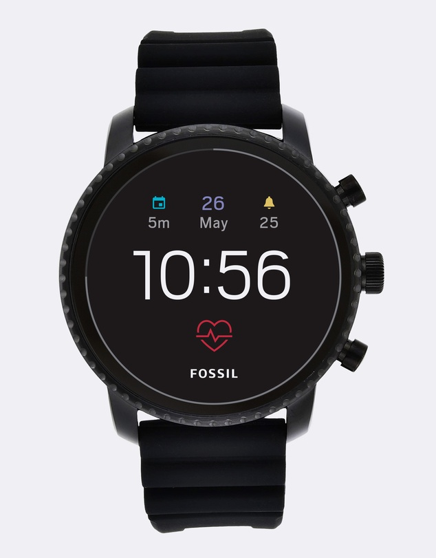 Fossil - Q Explorist Black Smartwatch
