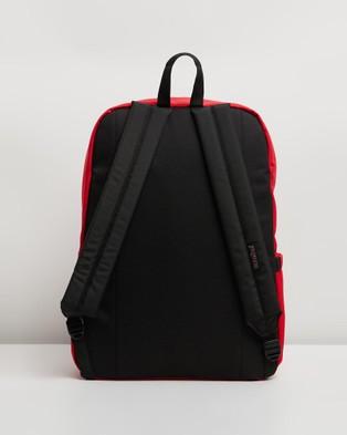 JanSport SuperBreak Plus Backpack - Outdoors (Red Tape)