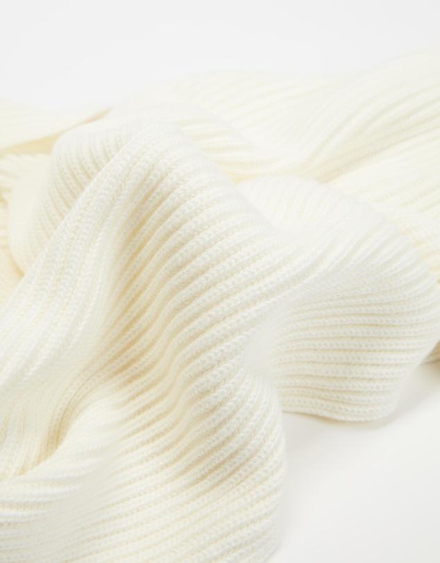 Women Organic Cotton Knit Scarf