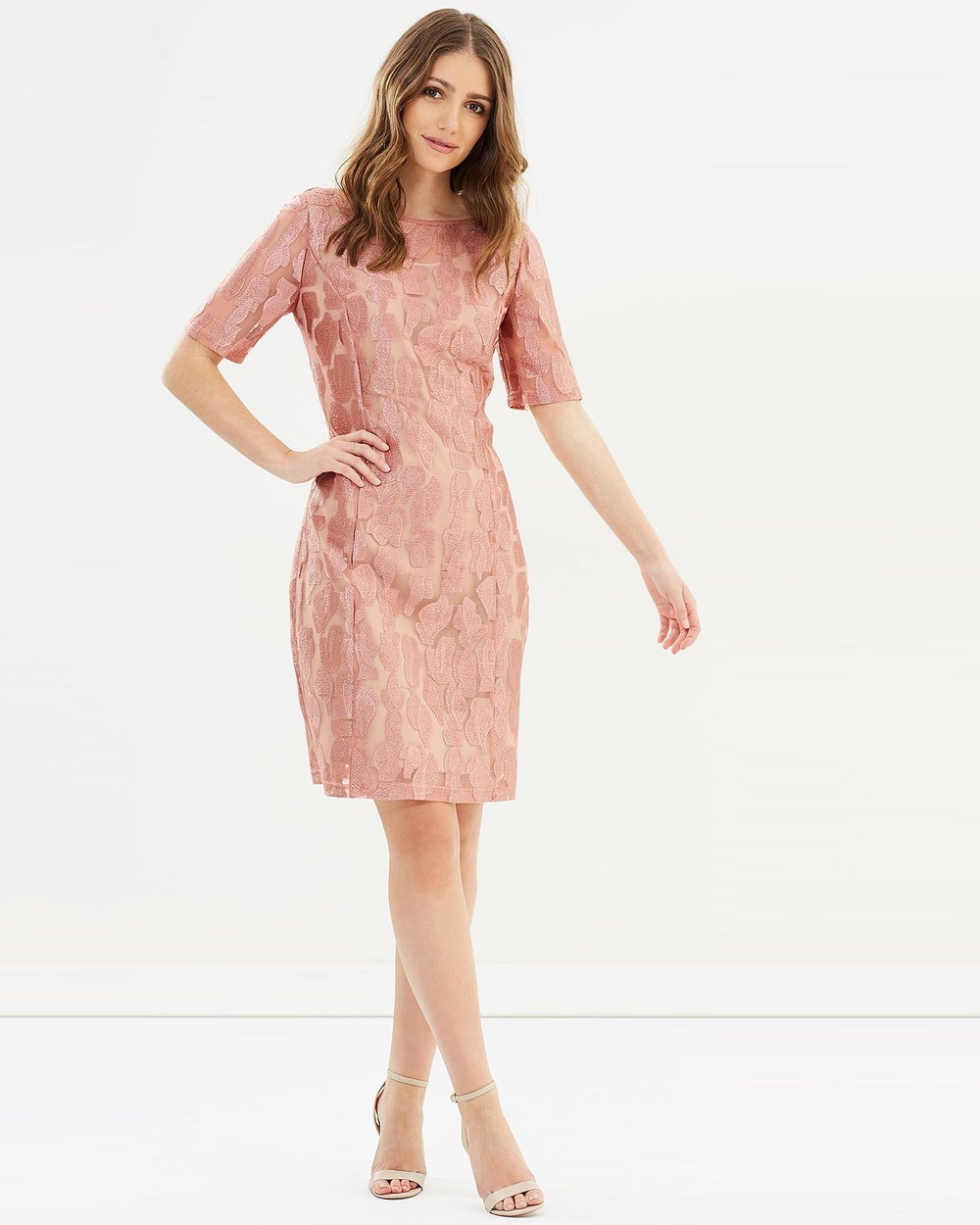 Faye Black Label Shapeshifter Shift Dress Dresses Pink Shapeshifter Shift Dress