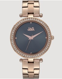 Jag - Ava Grey Sunray Rose Gold Dial IP Rose Gold Bracelet 36 mm