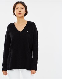 Polo Ralph Lauren - Cable Knit Side Slit Sweater