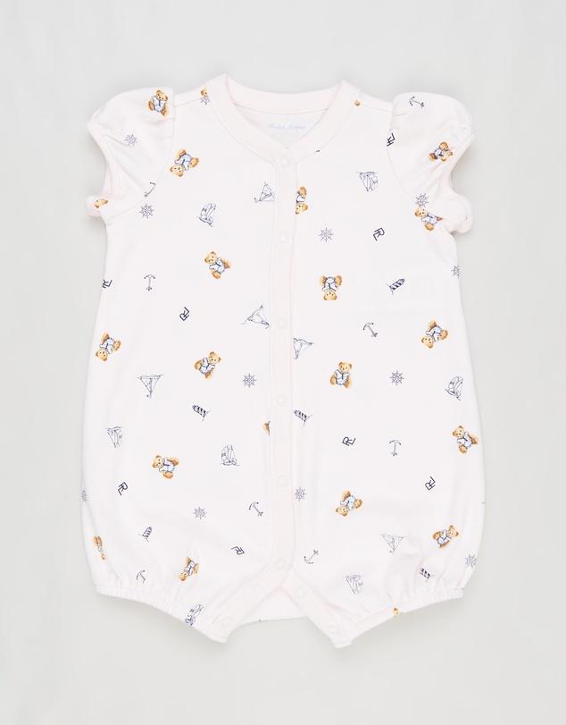 Kids Bear Shortalls - Babies