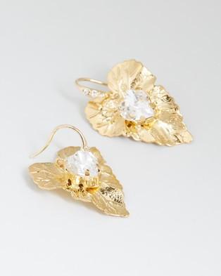 Nikki Witt Akira Earrings - Jewellery (Gold)