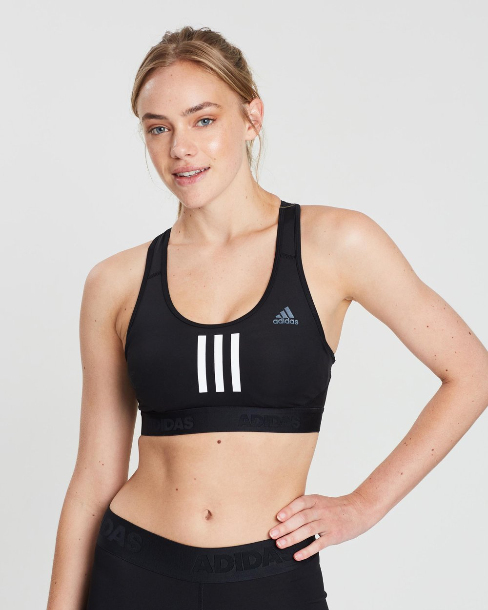603be9a7aafcf Don t Rest Alphaskin 3-Stripes Sports Bra by adidas Performance Online