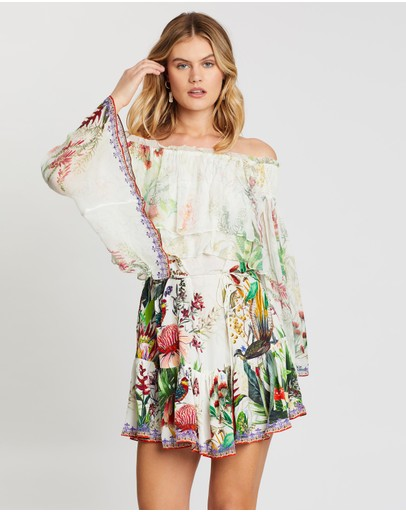 Camilla Tiered Ruffle Dress Faraway Tree